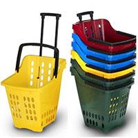 Тележки и корзины покупательские